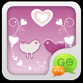 GO SMS Pro Bird Lover Theme