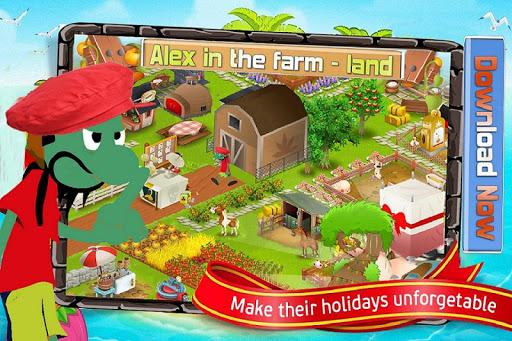 Alex In The Farm Land
