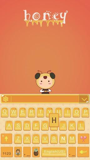 Honey Theme for Keyboard Emoji