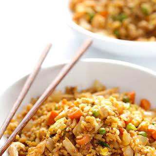 Spicy Chicken Fried Rice.