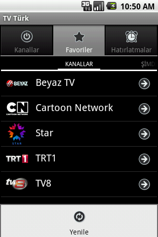 TV Turk - screenshot