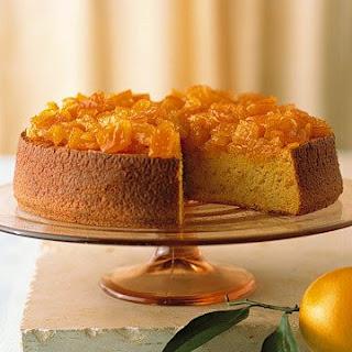 Orange-Almond Cake.