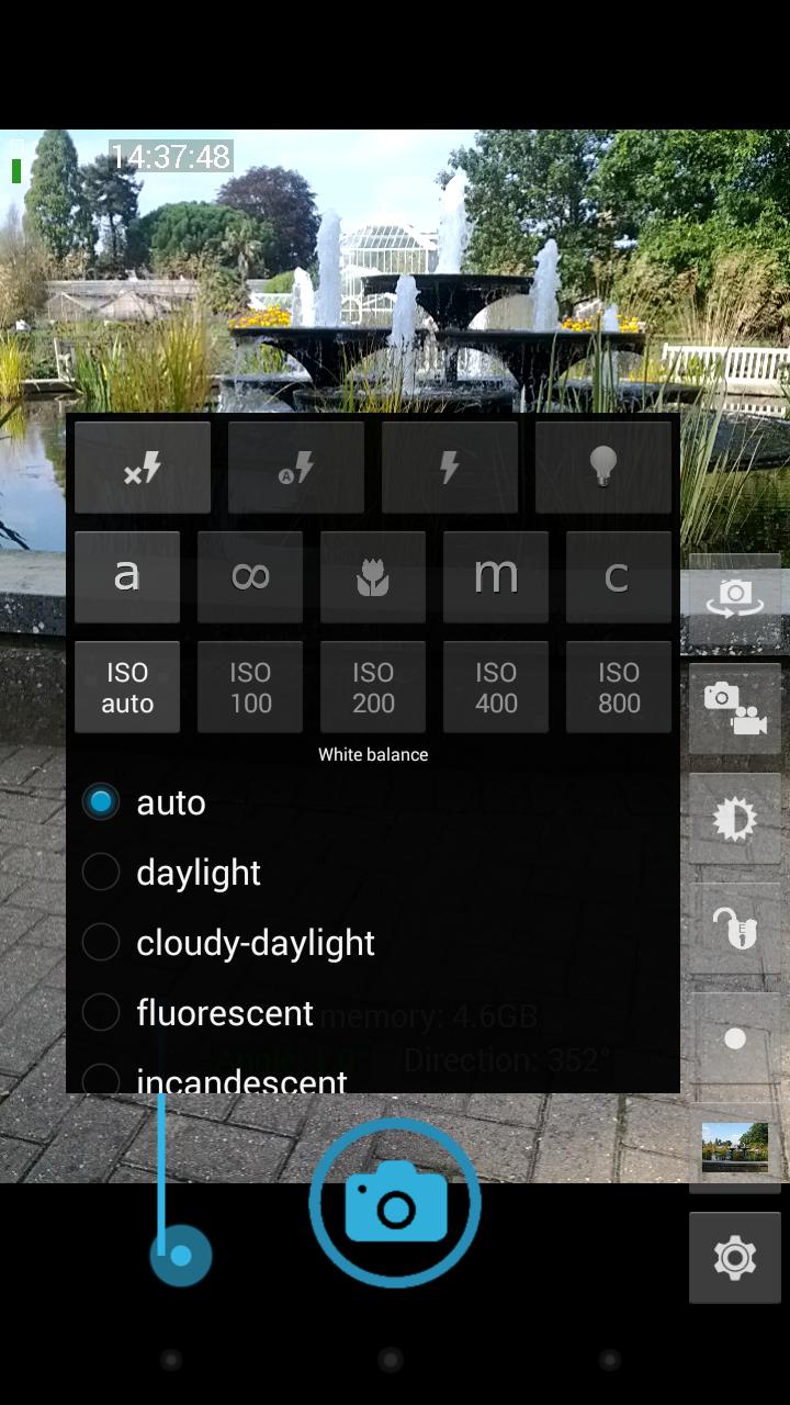 Open Camera Screenshot 1