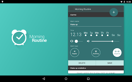 Morning Routine - Alarm Clock 3.2 screenshot 72301