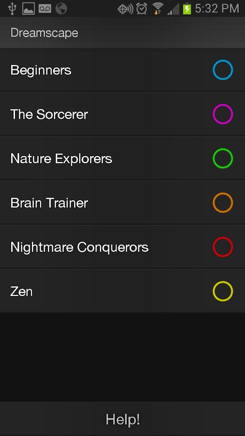 Lucid Dreamer - screenshot