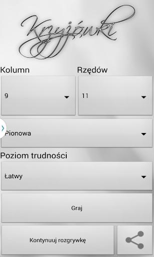 Krzyżówki po polsku