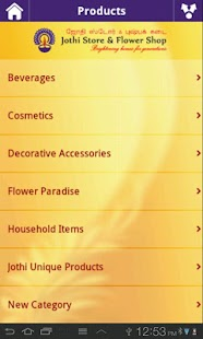 Jothi Store & Flower Shop - screenshot thumbnail