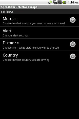 SpeedCam Detector Worldwide- screenshot