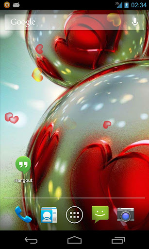 Love Balls 3D Live Wallpaper