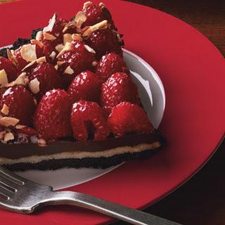 Chocolate, Almond, and Raspberry Tart Recipe