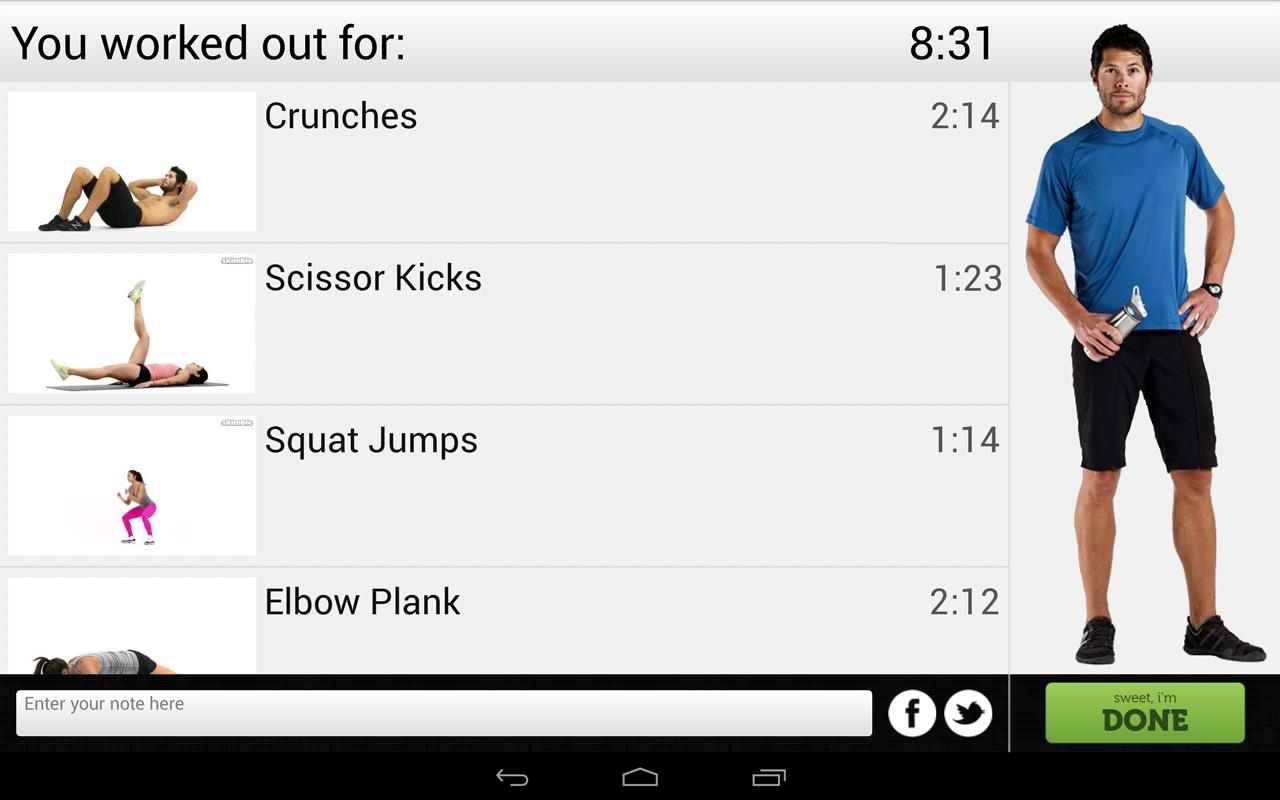 Fitness Flow FREE- screenshot