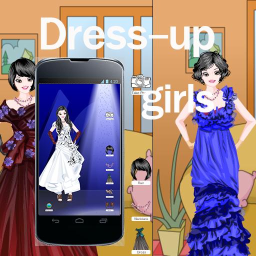 ドレスアップゲームの女の子無料