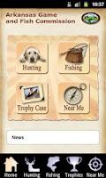 Screenshot of Arkansas Game and Fish Commiss