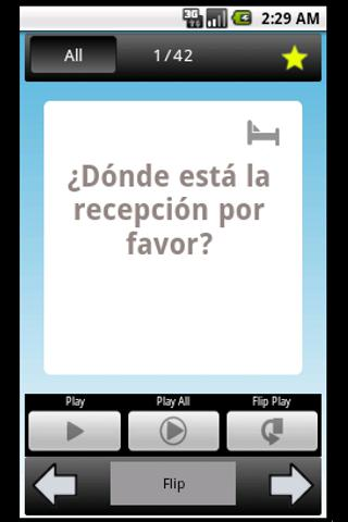 Phrase: Learn Spanish- screenshot