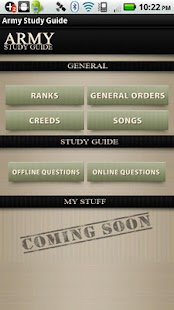 Army Study Guide - screenshot thumbnail