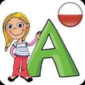 Alfabet dla dzieci, polski