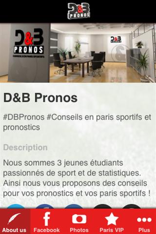 D B Pronos