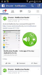 Notification Reader: Shouter- screenshot thumbnail