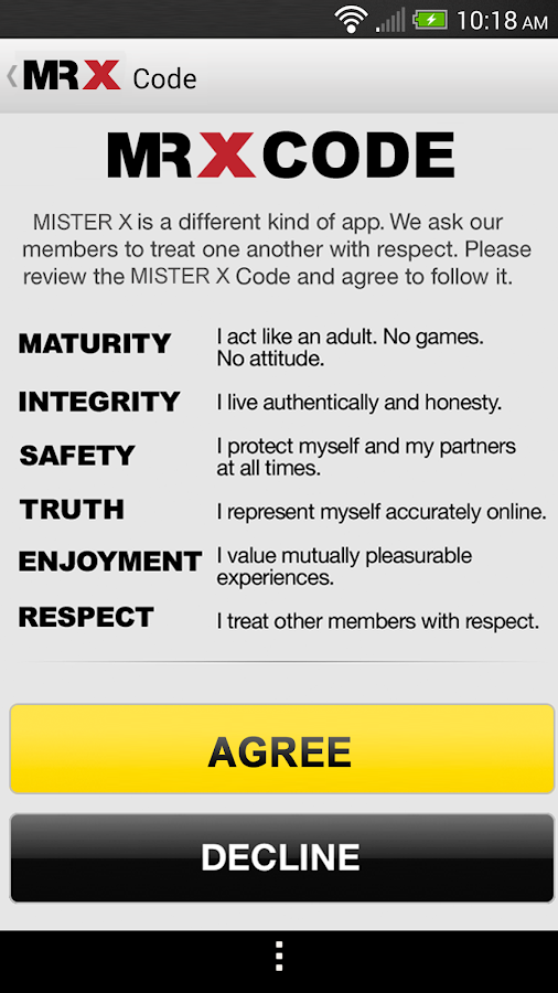 MR X: Gay Dating & Chat- screenshot