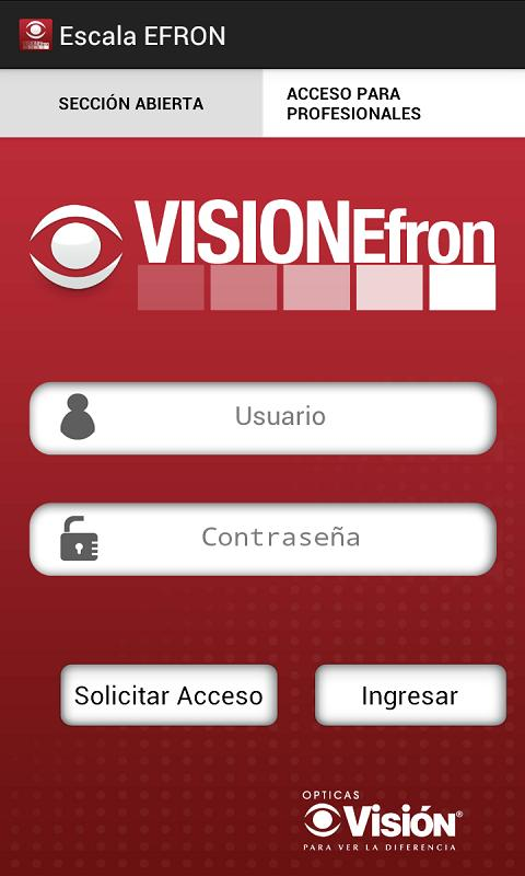 Opticas Visión Efron- screenshot