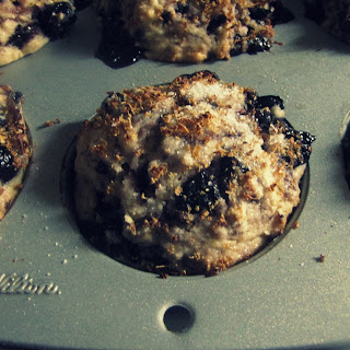 Simple Blueberry Muffins.