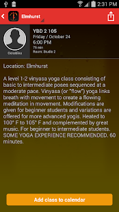 Yoga by Degrees- screenshot thumbnail
