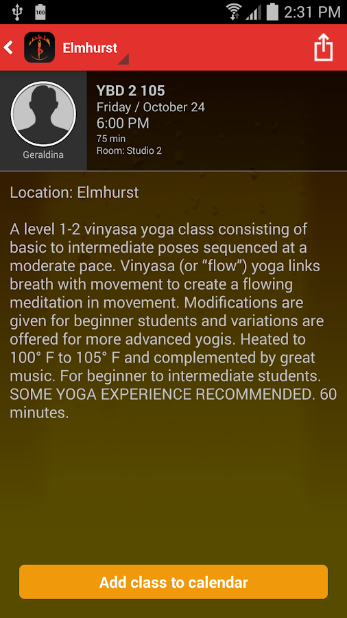 Yoga by Degrees- screenshot