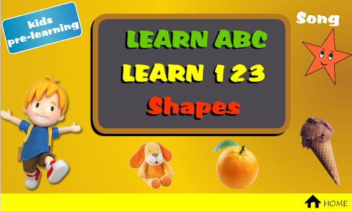 Kids Pre-Learning ABC Train