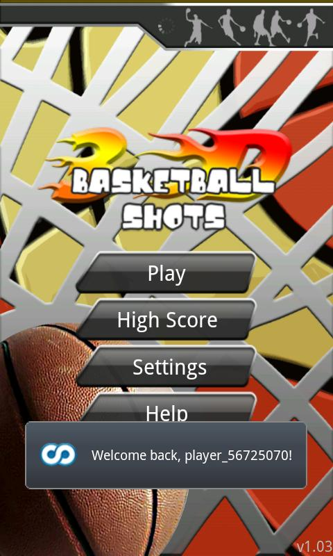3D Basketball Shot - screenshot