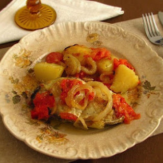 Roast Fish 'à Padeiro' (Fish in the Oven with Potatoes) Recipe