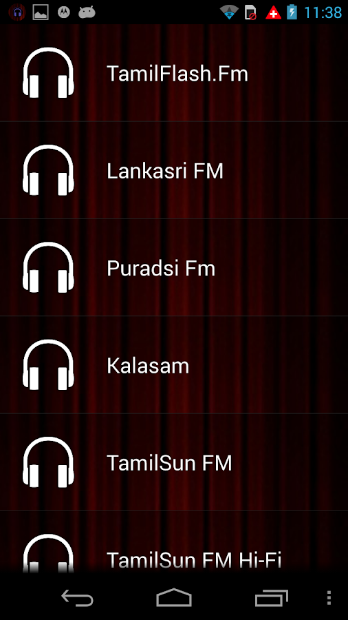 Tamil Live Radio - screenshot