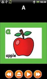 為孩子們的英文字母