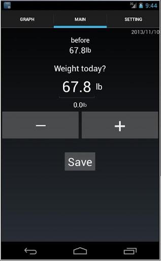 Weight-Alarm