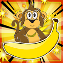 Greedy Monkey:Puzzle Game FREE icon