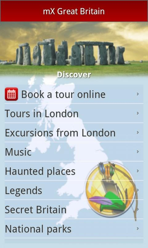 mX Great Britain: Top UK Guide- screenshot