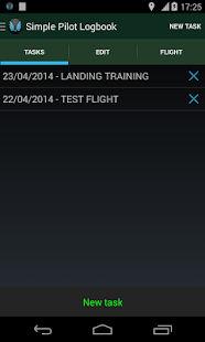Simple Pilot Logbook- screenshot thumbnail