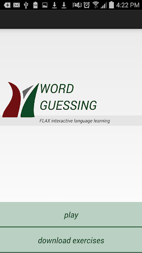 FLAX Word Guessing