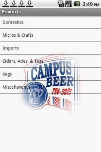 Campus Beer Distributors LLC - screenshot thumbnail