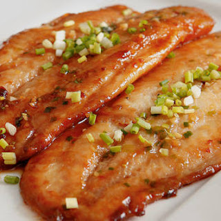 Pan-fried Oriental Fish.