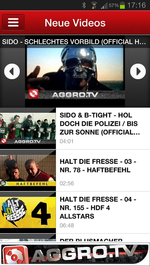 AGGRO.TV - screenshot