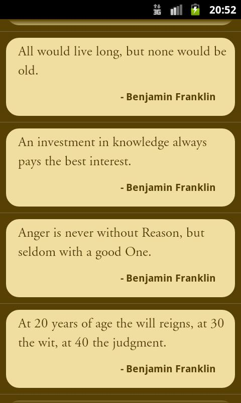 Great Quotes - screenshot