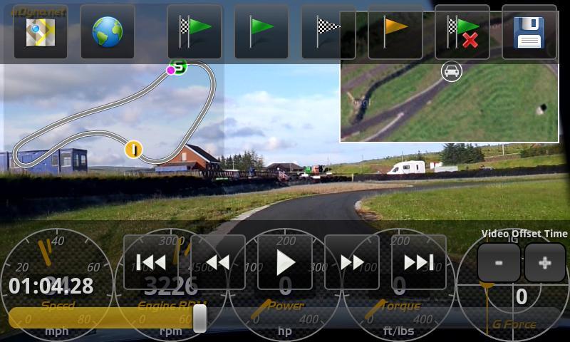 aLapRecorder HD- screenshot