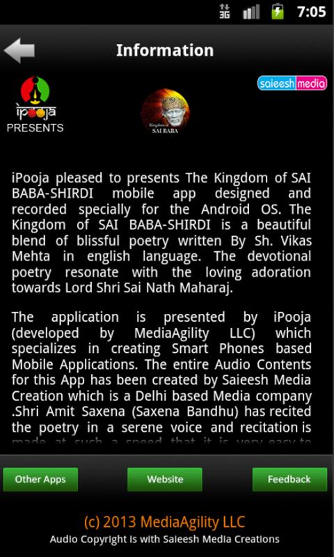 The Kingdom of SAI BABA-SHIRDI- screenshot