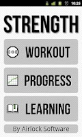 Screenshot of Strength Lite: Workout Log
