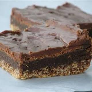 Three-Layer Chocolate Brownies.