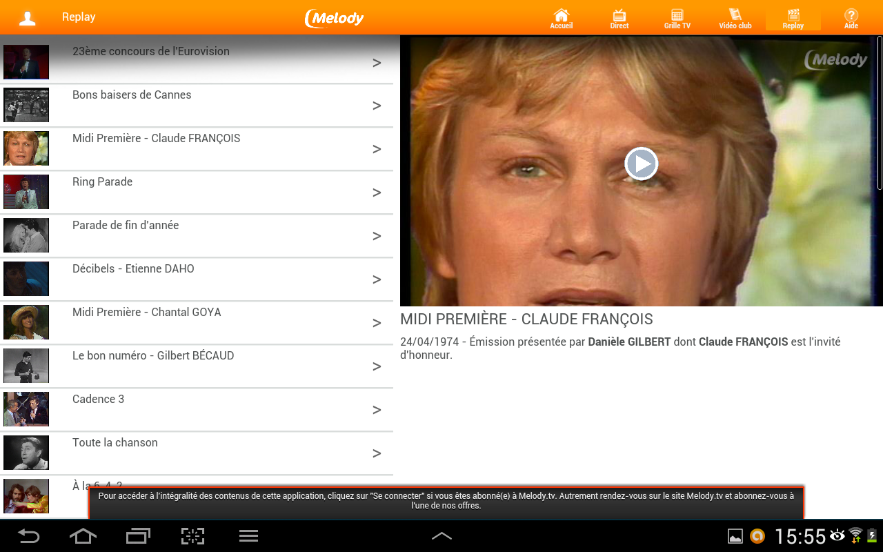 Melody - Star des variétés - screenshot