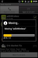 Screenshot of Auto App2SD Full