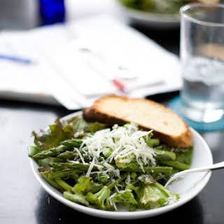 Roasted Broccoli and Asparagus Salad.