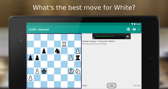 iChess - Chess Tactics/Puzzles- screenshot thumbnail