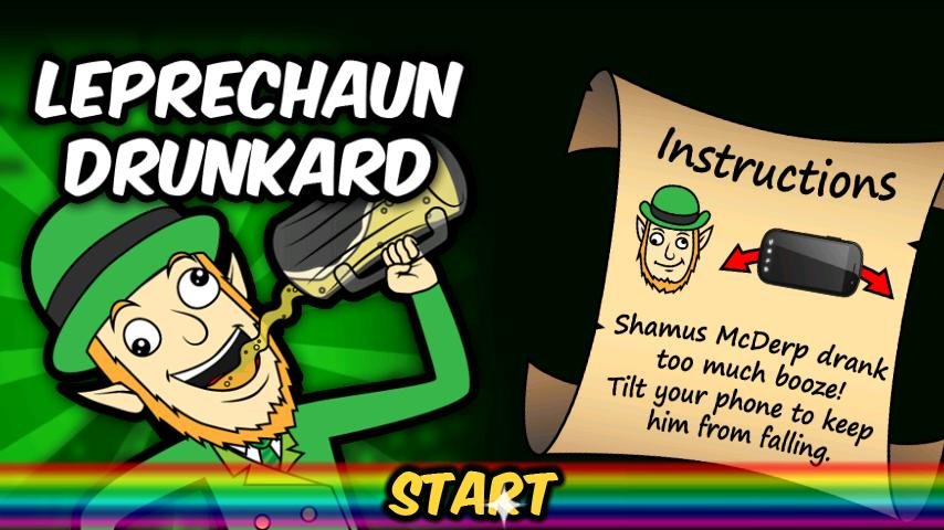 St Patrick's Day: Drunk Lep- screenshot